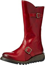 Fly London Mes Women red