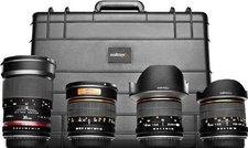 Walimex pro Objektiv Set All Star [Nikon AE]