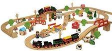 John Crane Tidlo Small World - Holz-Eisenbahn (100 Teile)