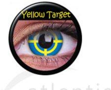 ColourVue Funny Lens Yellow Target (2 Stk.)