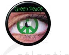 ColourVue Funny Lens Green Peace (2 Stk.)