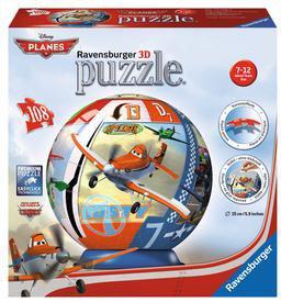 Ravensburger Disney Planes - 3D Puzzleball (108 Teile)
