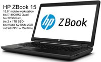 Hewlett Packard HP ZBook 15 (F0U63EA)