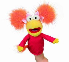 Manhattan Toy Fraggle Rock Handpuppe Red