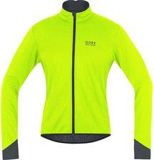 Gore Power 2.0 Windstopper Soft Shell Jacke neon gelb/schwarz