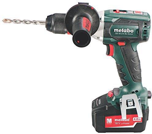 Metabo SB 18 LTX BL Quick (2 x 4,0 Ah)