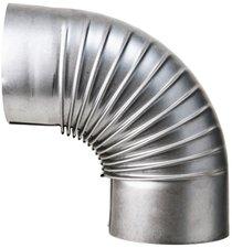 Muldenthaler Bogen gerippt 90° ohne Reinigungsöffnung (2BG-90)