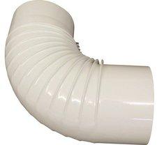 Muldenthaler Bogen gerippt 90° ohne Reinigungsöffnung emailliert ø 150 mm (1BG-90150)