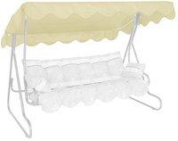 Angerer Ersatzdach 210 x 145 cm 3-Sitzer elfenbein/beige