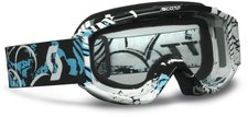 Scott 89Si Pro Youth swell black/blue / clear afc