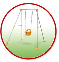 Smoby Schaukelgestell Metall Swing Plus (310191)