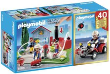 Playmobil City Action Jubiläums-Kompaktset Feuerwehreinsatz mit Quad (5169)