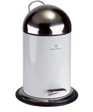 Aquanova Taco Tret-Abfalleimer 3 L weiß (34 x 22 cm)