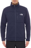 The North Face Men's Gordon Lyons Full Zip Fleece Jacket Cosmic Blue Heather