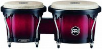 Meinl Headliner Wood Bongos Wine Red Burst 6 3/4