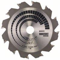 Bosch Kreissägeblatt Construct Wood 150 x 20 x 2,4 mm (2 608 641 199)