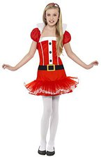 Smiffys Little Miss Santa Tutu