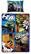Character World Teenage Mutant Ninja Turtles (50 x 75 + 135 x 200 cm)