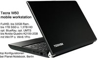 Toshiba Tecra W50-A