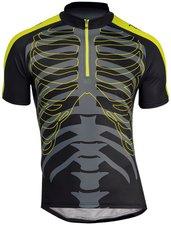 Northwave Skeleton Trikot schwarz/gelb