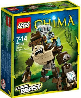 LEGO Legends of Chima - Gorilla Legend-Beast (70125)