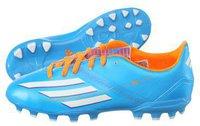 Adidas F10 TRX AG J solar blue/solar zest/running white