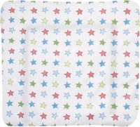 Zöllner Wickelauflage Softy Stoff Colour Stars (75 x 85 cm)