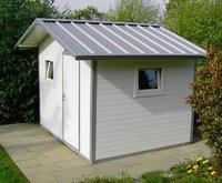 NWS Gartenhaus Satteldach 350 x 200 cm (Stahl)