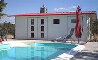 NWS Gartenhaus Satteldach 500 x 350 cm (Stahl)