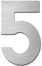 Serafini Hausnummer 5 (Edelstahl 15cm)