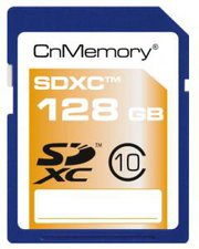 CnMemory SDXC 128GB Class 10 (110322)