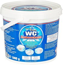 Die moderne Hausfrau WC-Zauberschaum (1 kg)