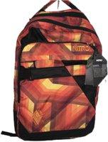 Nitro Lock Backpack plaid red-blue
