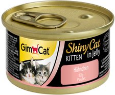 Gimpet Shiny Cat Kitten Hühnchen (70 g)