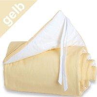 Babybay Maxi-Nestchen gelb/weiß