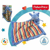 Fisher Price Schmusetuch Nilpferd 28 cm