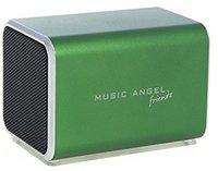 QOOpro Music Angel Friendz dunkelgrün