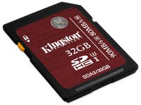 Kingston SDHC Ultra High-Speed 32GB Class 3 (SDA3/32GB)