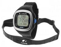 Runtastic GPS Uhr mit Brustgurt blau