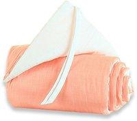 Babybay Maxi-Nestchen orange/weiß