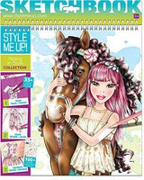 Style me Up Riding in Style Designer Sketchbook (1435)