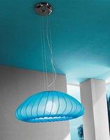 Axo Light Muse Pendelleuchte hellblau (80 cm)
