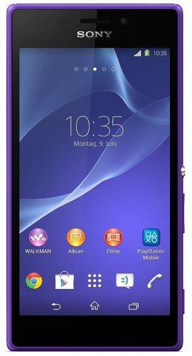 Sony Xperia M2 Violett ohne Vertrag