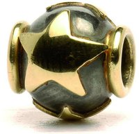 Trollbeads Sterne gold silber (41809)