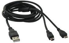 TnB USB 2.0 + Micro USB + Mini USB