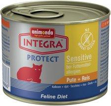 Animonda Petfood Integra Protect Sensitive Pute & Reis (200 g)