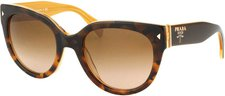 Prada PR 17OS FAL1Z1 (top light havana-opal yellow/brown gradient)