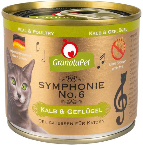 GranataPet Symphonie Nr. 6 Kalb & Geflügel (200 g)