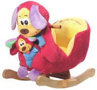 Knorr-Baby Schaukelhund Wuffy