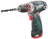 Metabo PowerMaxx BS Quick Pro (2 Akkus, MetaLoc Koffer)